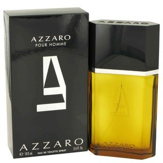 Azzaro Men's 3.4-ounce Eau De Toilette Spray