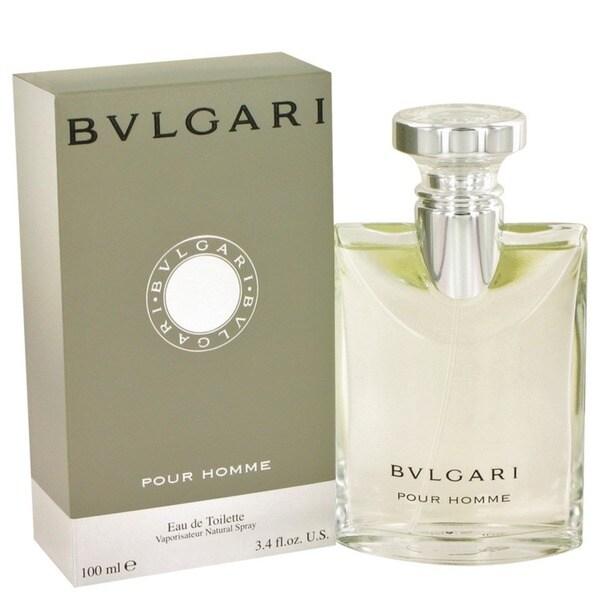 Bvlgari Men's 3.4-ounce Eau de Toilette Spray