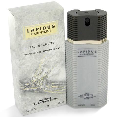 Lapidus Men's 3.3-ounce Eau de Toilette Spray