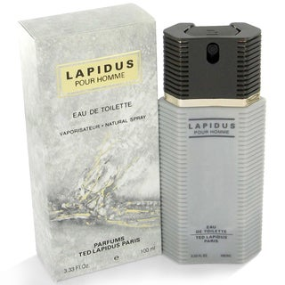 Lapidus Men's 3.3-ounce Eau de Toilette Spray