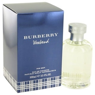 Burberry Weekend Men's 3.3-ounce Eau de Toilette Spray