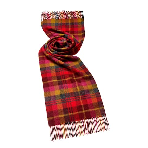 Bronte Moon - Check Easby Cherry Stole