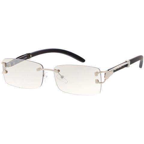 EPIC Eyewear Sophisticate Retro Fashion Rectangular Sunglasses SQ48