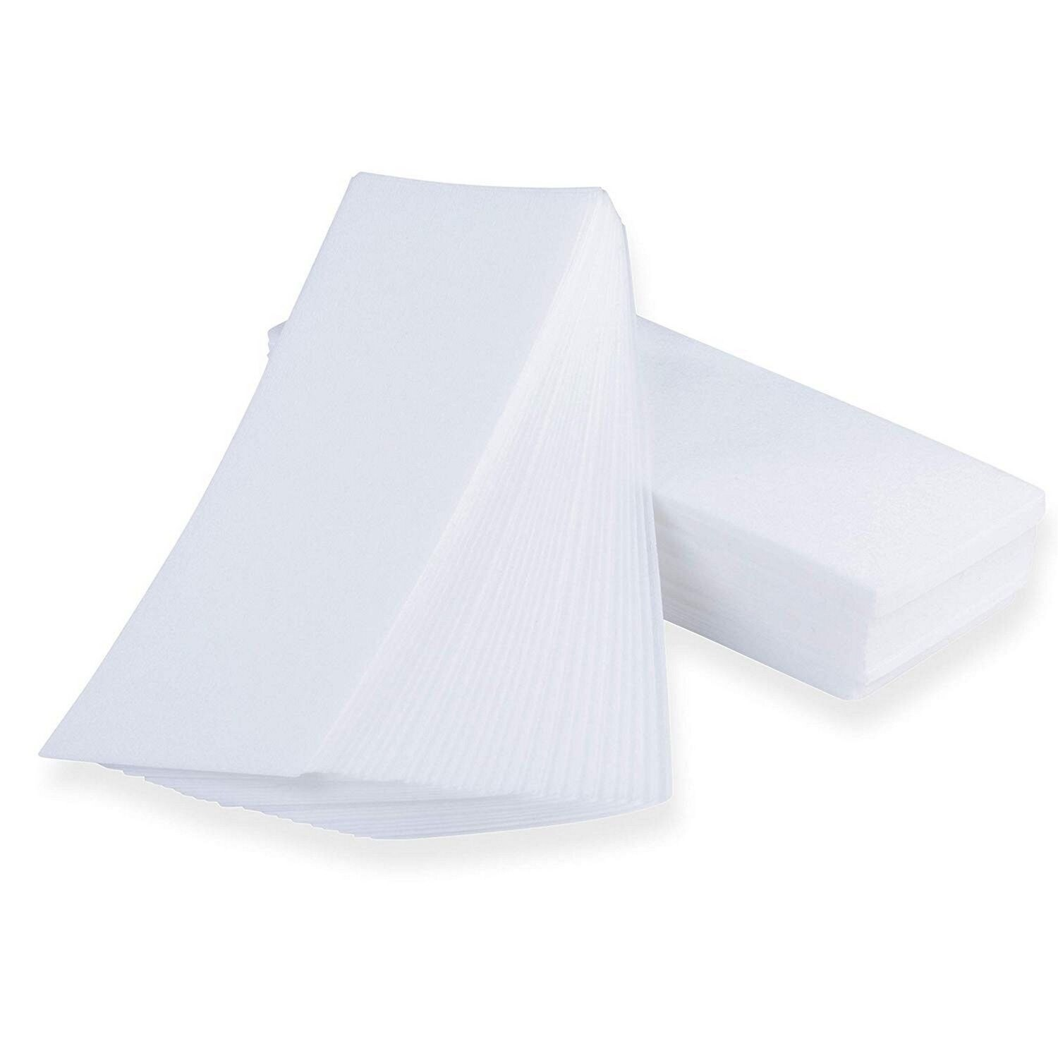 Shop 400 Pack Non Woven Wax Strips Paper For Facial And Body Hair