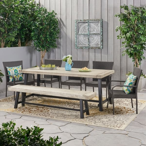 8 Seater Rattan Outdoor Dining Set