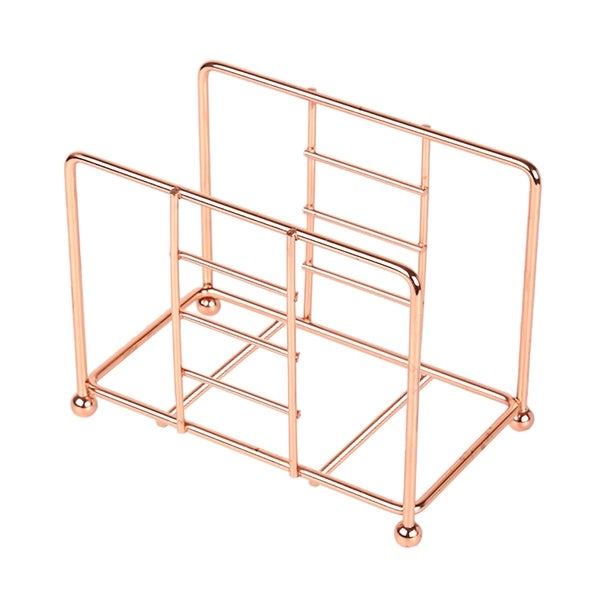 Creative Home Copper Plated Metal Napkin Holder