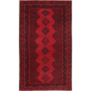 "Vintage Geometric Balouch Oriental Persian Area Rug Wool Handmade - 4'5"" x 7'9"""