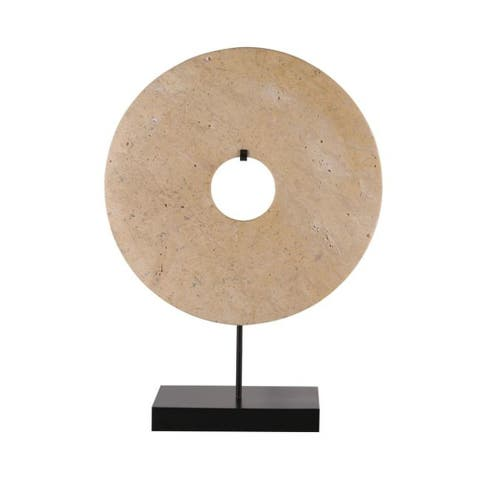 Carson Carrington Ytterbo Disk Statue with base