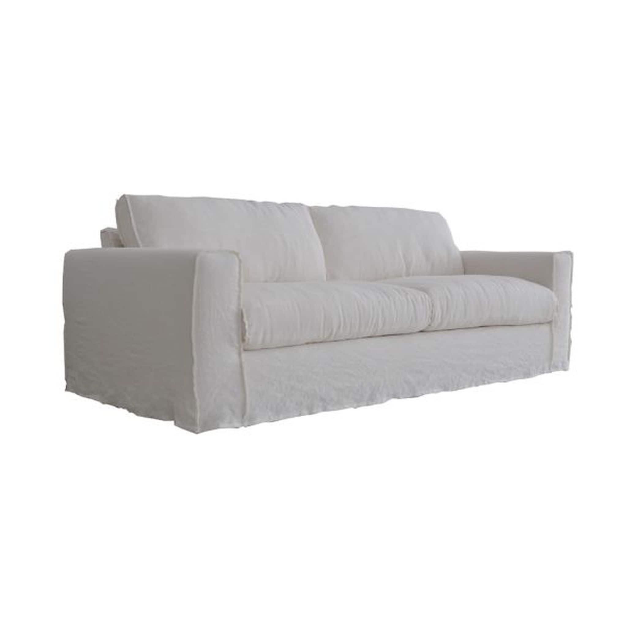 Linen Slipcover For Sofa