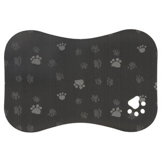 """Link to Paws Gray Pet Mat - 16"""" x 24"""" Similar Items in Dog Feeders & Waterers"""