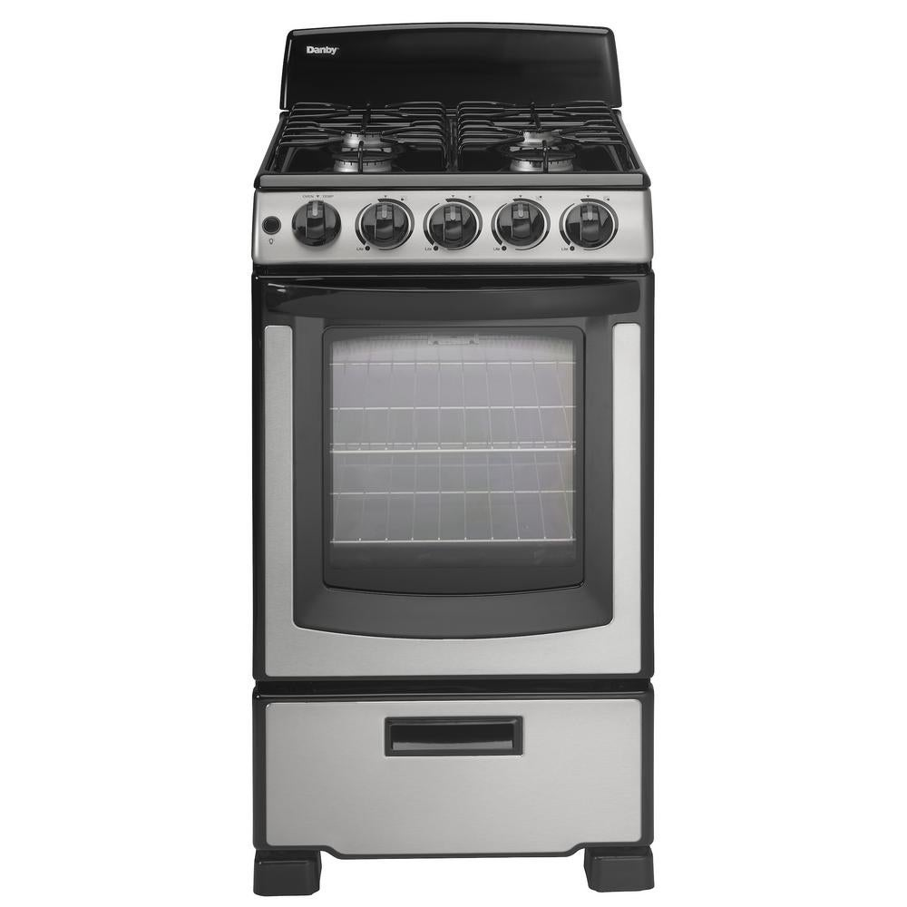 Danby Products Danby 20 Inch Gas Range (White - White Finish)