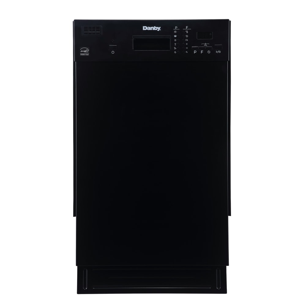 Danby Products Danby 18 Inch Under-The-Counter Dishwasher (Stainless Steel - Stainless Steel Finish)