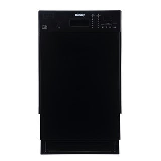 Danby Products Danby 18 Inch Under-The-Counter Dishwasher (Black - Black Finish)