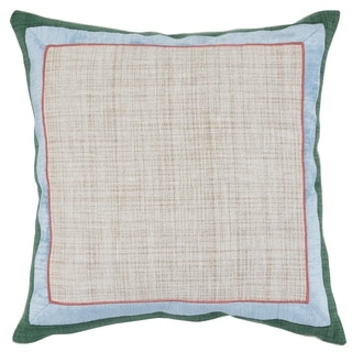 Kosas Home Lorna Embroidered 100% Cotton 24-inch Throw Pillow