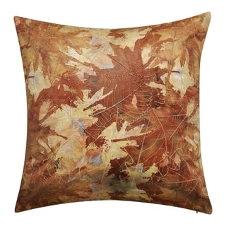 Link to Edie at Home Printed Leaf Decorative Throw Pillow Similar Items in Decorative Accessories