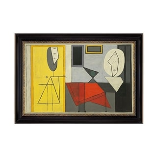 Link to The Studio by Pablo Picasso 1928 Black Frame OIl Painting Canvas Print  28 In. x 19 In. Similar Items in Art Prints