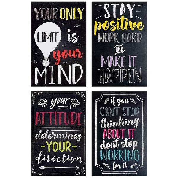 Quote Poster Motivational Inspirational Poster Message FREE P+P CHOOSE YOUR SIZE