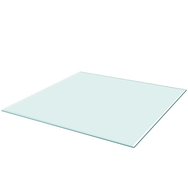 """Table Top Tempered Glass Square 27.6""""x27.6"""""""