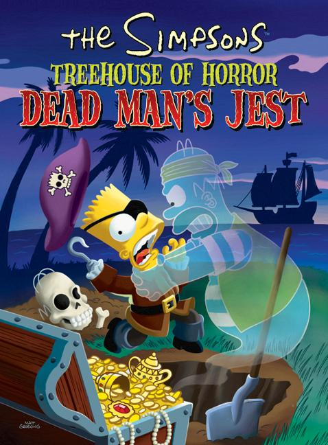 The Simpsons Treehouse of Horror Dead Man's Jest (Paperback)