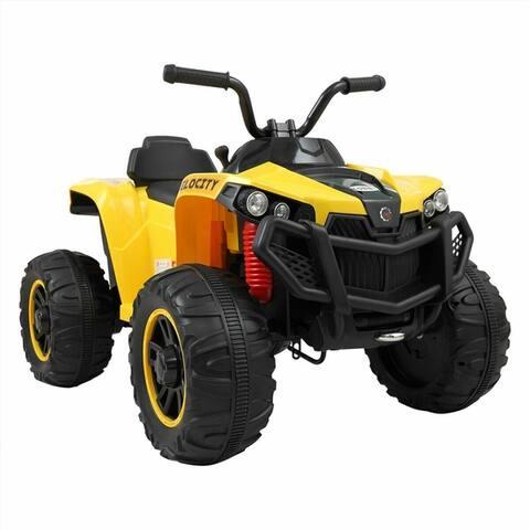 6V Kids Ride On ATV Quad Powered Electric W/ MP3 Dual-Drive Motor