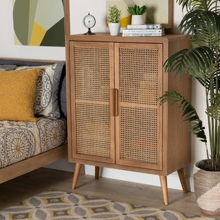 Link to Carson Carrington Dafverud Modern Oak Finished Accent Storage Cabinet Similar Items in Living Room Furniture