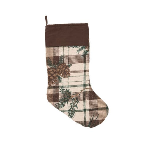 Lookout Lodge Stocking - 8.5 x 20