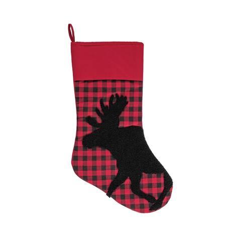 Woodford Moose Stocking - 8.5 x 20