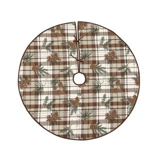 """Lookout Lodge Tree Skirt - 54"""" x 54"""""""