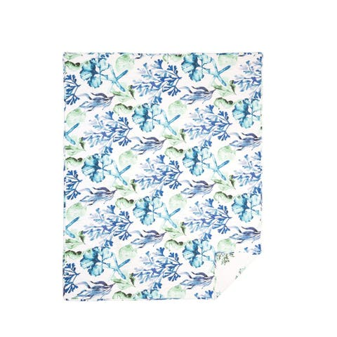 Bluewater Bay Quilted Cotton Throw Blanket