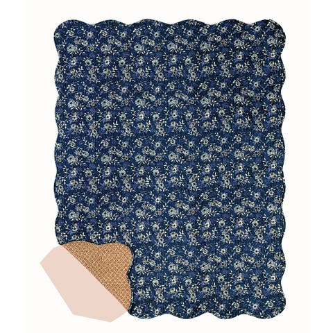 Asheville Quilted Cotton Throw Blanket