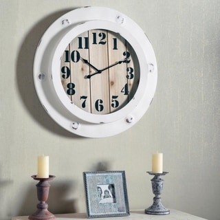 "Obion Oversized Wall Clock - 24"" Dia."