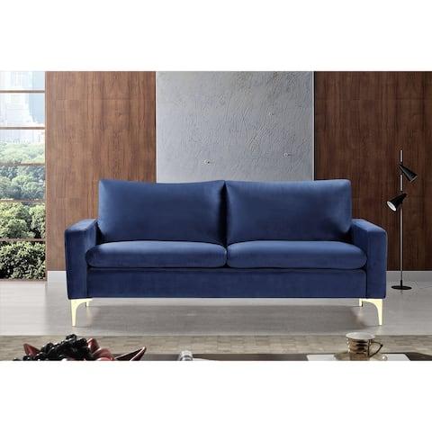 Macus Velvet Tufted Sofa