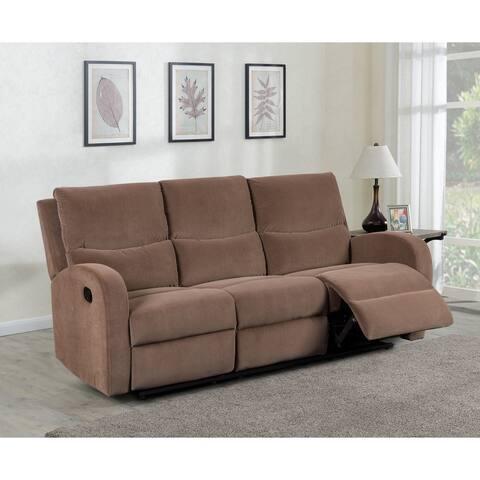 Louis Velvet Reclining Sofa