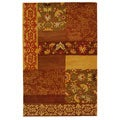 Safavieh Handmade Cosmopolitan Blocks Wool Rug (9' x 12')