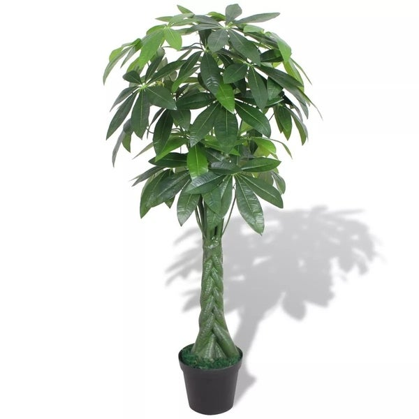 """Artificial Fortune Tree Plant with Pot 57"""" Green"""
