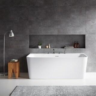 """Dashiel 59"""" x 31.5"""" Soaking Bathtub"""