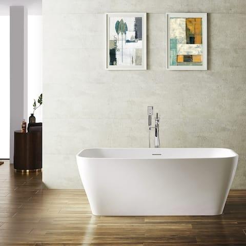 "Augustine 59"" x 31.5"" Soaking Bathtub"