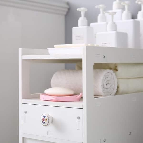 Small Bathroom Storage Thin Toilet