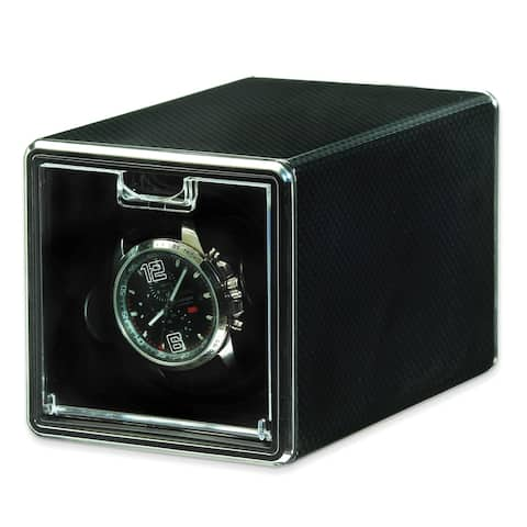 Watch Winders by Rotations Carbon Fiber Metal Single Watch Winder