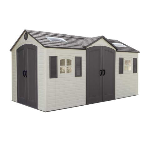 Lifetime 15 Ft. x 8 Ft. Outdoor Storage Shed - 15 x 8 ft.