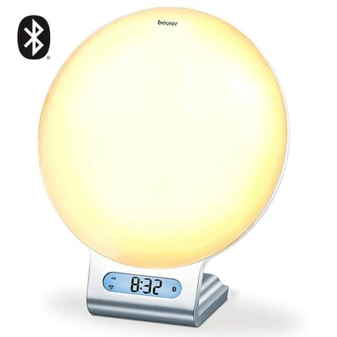 Beurer 4-in-1 Bluetooth Wake-up, Alarm Clock, Reading & Mood Lamp, WL75