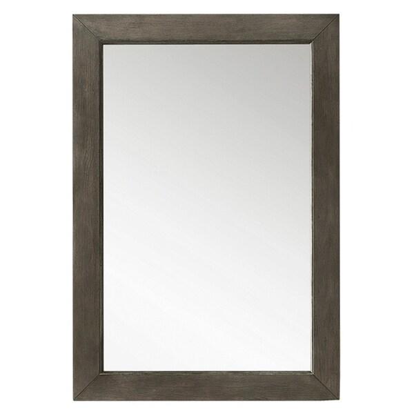 """Columbia 29"""" Mirror, Silver Oak - 29-in W x .75-in D x 42-in H"""
