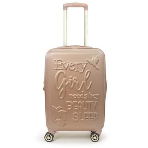 "Ful Disney Princess Aurora Sleeping Beauty 21"" Carry On Luggage"