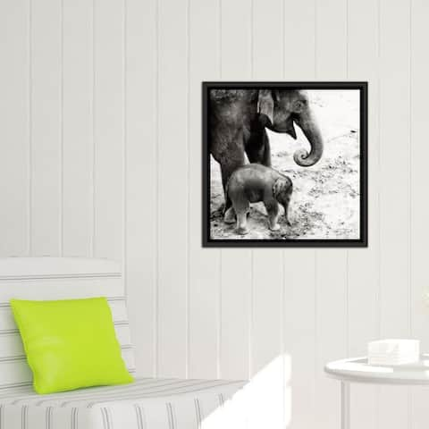 """iCanvas """"Mother and Daughter"""" by Debra Van Swearingen Framed Gallery-Wrapped Canvas Print"""