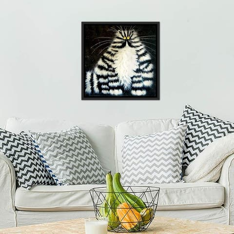 "iCanvas ""Bert"" by Kim Haskins Framed Gallery-Wrapped Canvas Print"
