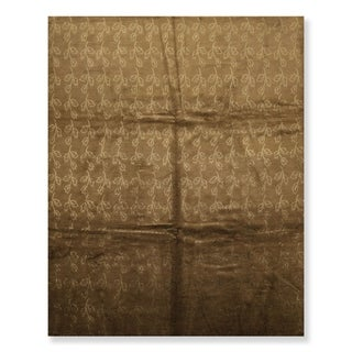 Link to Contemporary Hand Knotted Wool & Silk Tibetan Oriental Area Rug (8'x10') - 8' x 10' Similar Items in Transitional Rugs