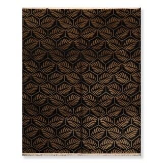 Modern Hand Knotted Wool Tibetan Oriental Area Rug (8'x10') - 8' x 10'