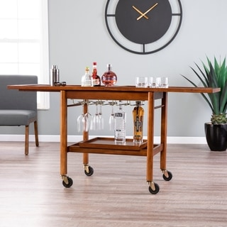 Link to Holly & Martin Karymore Extendable Bar Cart w/ Storage Similar Items in Home Bars