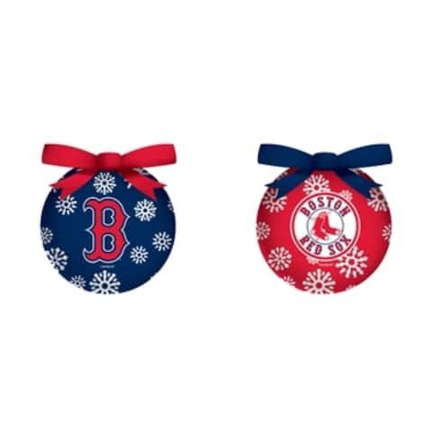 MLB 3-inch LED Boxed Ornaments, Set of 6