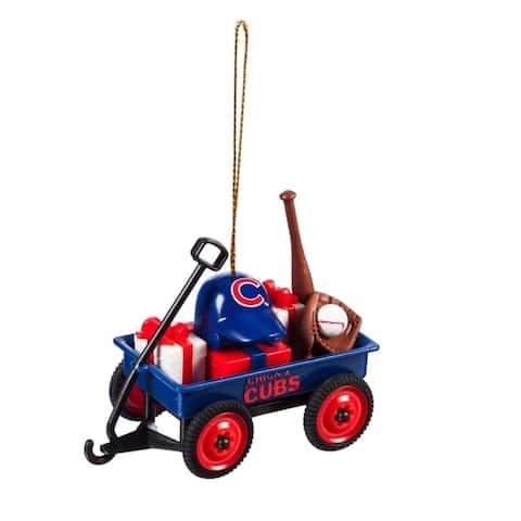 MLB 3-inch Team Wagon Ornament